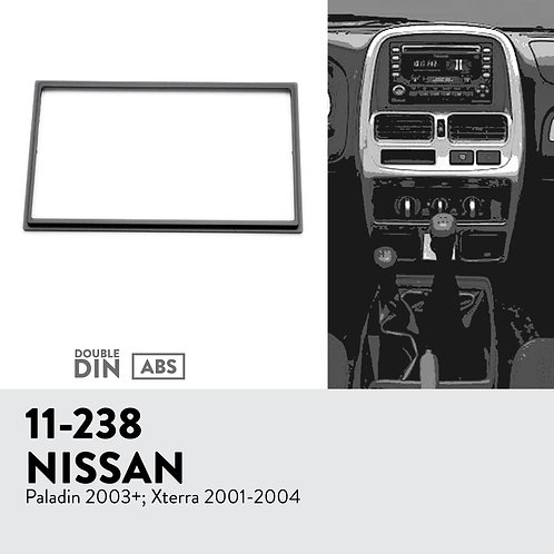 11-238 Compatible with NISSAN Paladin 2003+; Xterra 2001-2004