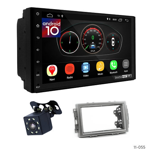 """7"""" DSP Car Radio+Fascia Kit Compatible with Chrysler;Aspen;Dodge Charger"""