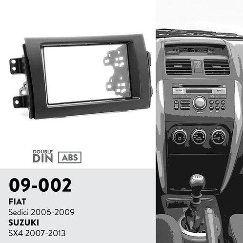09-002 Compatible with FIAT Sedici 2006-2009 / SUZUKI SX4 2007-2013