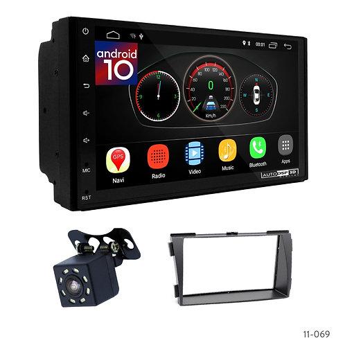"""7"""" DSP Car Radio+Fascia Kit Compatible with Hyundai Sonata (NF) 08-10"""