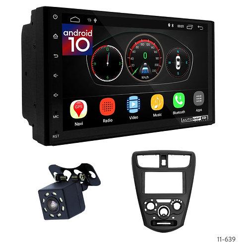 "7"" DSP Car Radio+Fascia Kit Compatible with Perodua Axia 14+"