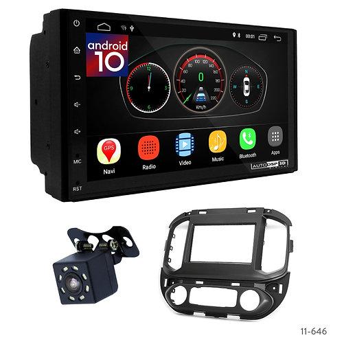 "7"" DSP Car Radio+Fascia Kit Compatible with Chevrolet Colorado 15+ / GMC Canyon"