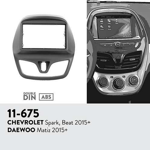 11-675 Compatible with CHEVROLET Spark, Beat 2015+ / DAEWOO Matiz 2015+