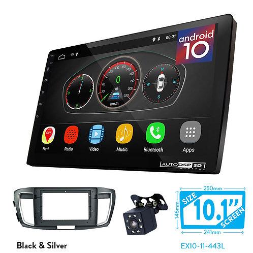 "10"" Android 10 Car Stereo + Fascia Kit for HONDA Accord 2013-2018"
