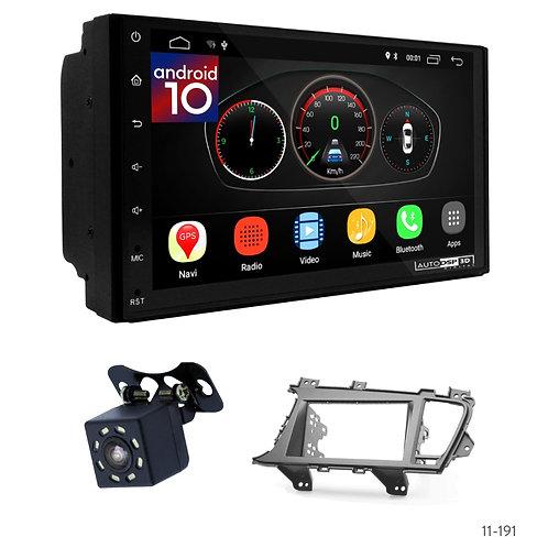 "7"" DSP Car Radio + Fascia Kit for KIA Optima III (TF), K5 10-13"