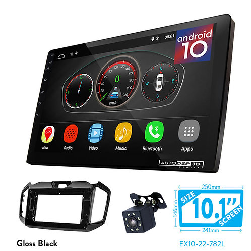 "10"" Android 10 Car Stereo + Fascia Kit for ISUZU Ruimai 2016+"
