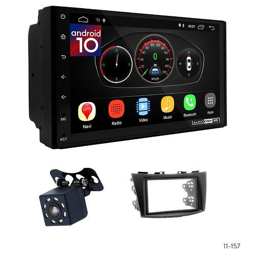 "7"" DSP Car Radio+Fascia Kit Compatible with Suzuki Swift, Ertiga"