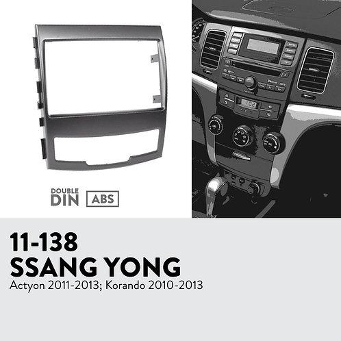 11-138 Compatible with SSANG YONG Actyon 2011-2013; Korando 2010-2013