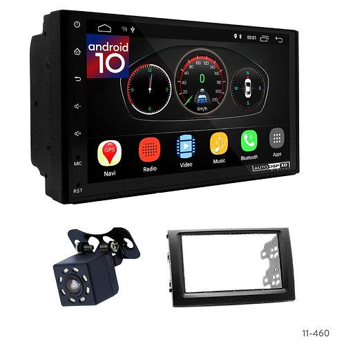 "7"" DSP Car Radio+Fascia Kit Compatible with Skoda Fabia 03-06"