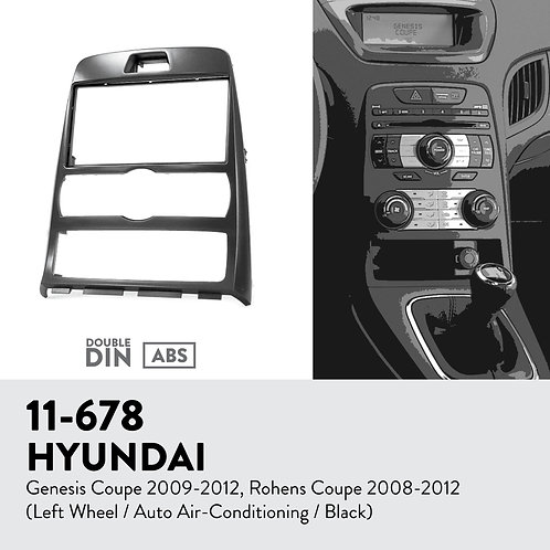 11-678 Compatible with HYUNDAI Genesis Coupe 2009-2012, Rohens Coupe 2008-20