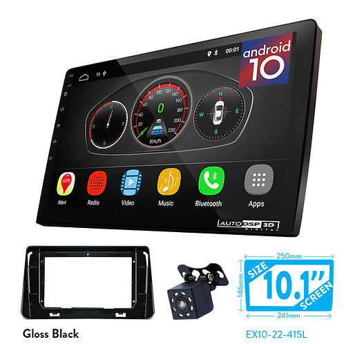 "10"" Android 10 Car Stereo + Fascia Kit for NISSAN Micra (K14) 2017+; Kicks 2016+"