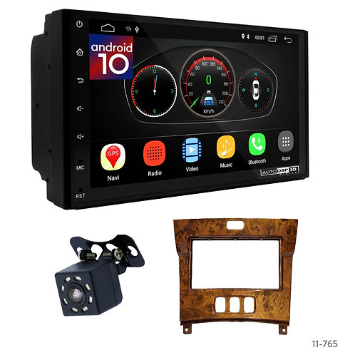 """7"""" DSP Car Radio+Fascia Kit Compatible with Toyota Celsior (UFC30) 01-06"""