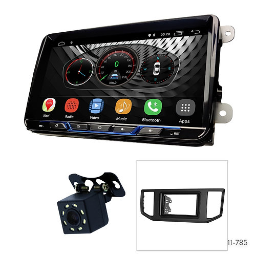 """VW-B 9"""" Car Stereo Radio Plus 11-785 Fascia Kit for Volkswagen Crafter 2016+"""