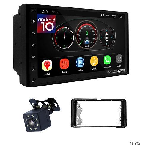 "7"" DSP Car Radio+Fascia Kit Compatible with Mitsubishi Xpander 17+"