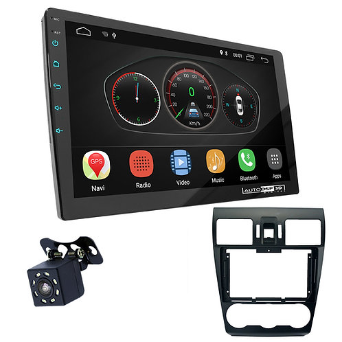 """9"""" DSP Car Radio+Fascia Kit Compatible with SUBARU Compatible withester 2015-20"""