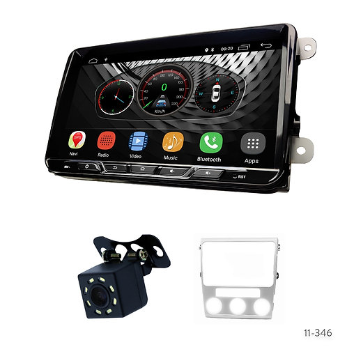 "VW10-S 9"" Car Radio+Fascia Kit Compatible with Volkswagen Lavida 2010-2012"