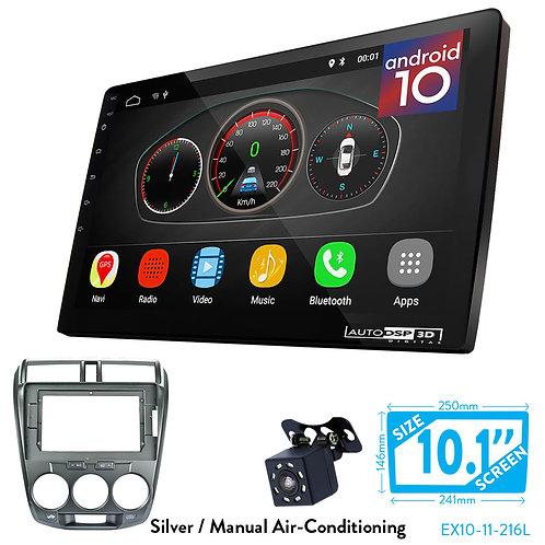 "10"" DSP Car Radio+Fascia Kit Compatible with HONDA City 20Ballade 2011-2014"