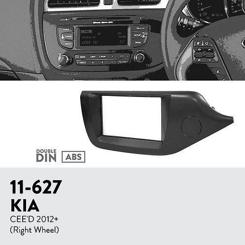 11-627 Compatible with KIA CEE'D 2012+