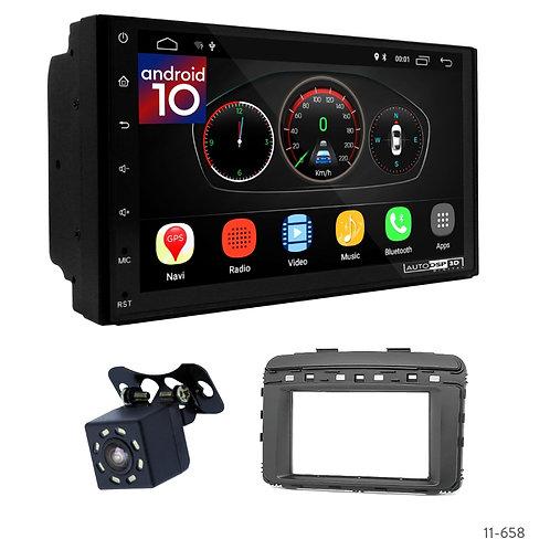 """7"""" DSP Car Radio+Fascia Kit Compatible with KIA Sorento (UM) 14+"""