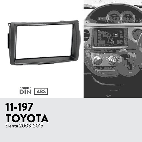 11-197 Compatible with TOYOTA Sienta 2003-2015