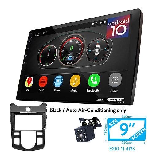 """9"""" DSP Car Radio+Fascia Kit Compatible with KIA Cerato,Naza Forte 20(Auto Air-Co"""