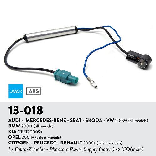 13-018 Compatible with AUDI - MERCEDES-BENZ - SEAT - SKODA - VW 2002+ / BMW 2001