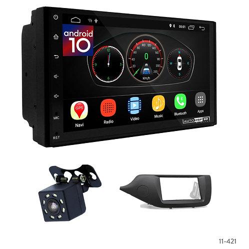 "7"" DSP Car Radio+Fascia Kit Compatible with KIA CEE'D 12+"