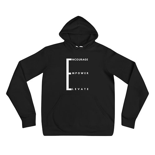 Encourage.Empower.Elevate Unisex hoodie