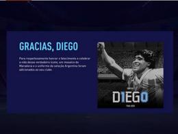 EA homenageia Maradona