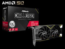 Radeon RX 5500 XT Challenger D 8G OCRX5500XT CLD 8GO