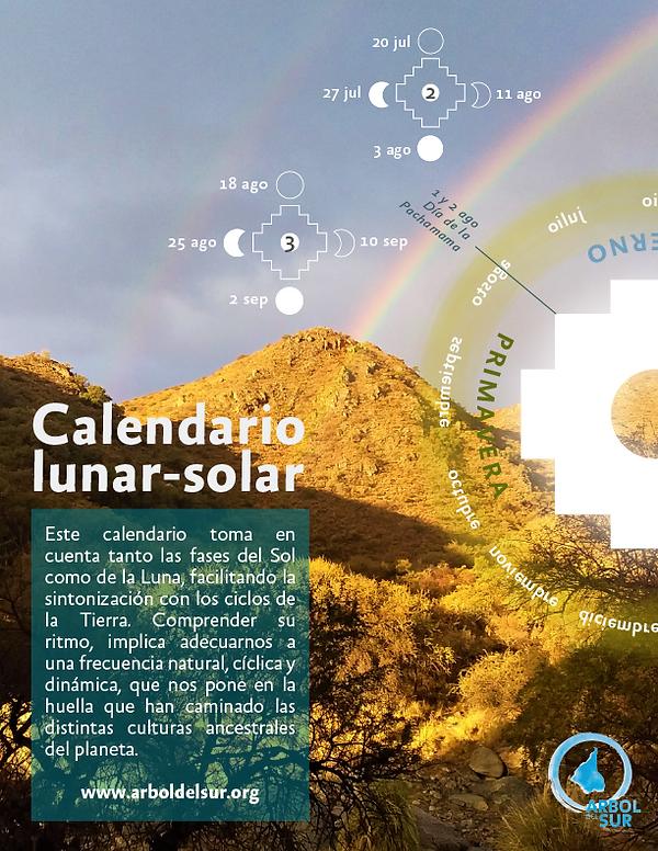 Arbol del Sur Calendario Lunar Solar 202