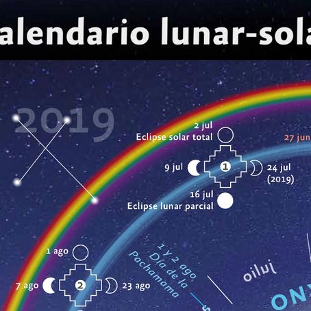 Presentación Calendarios Lunar Solar en San Francisco del Monte de Oro - San Luis