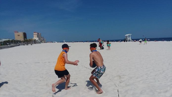 Beach Basketball