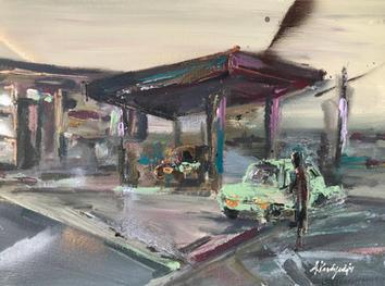 13_Petrol Station_30x40 cm.jpg