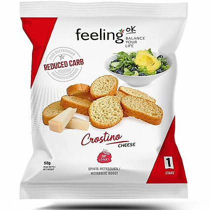 Feeling ok Crostino (natuur of kaas)