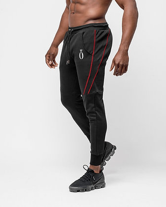 Dual joggers Black & Red