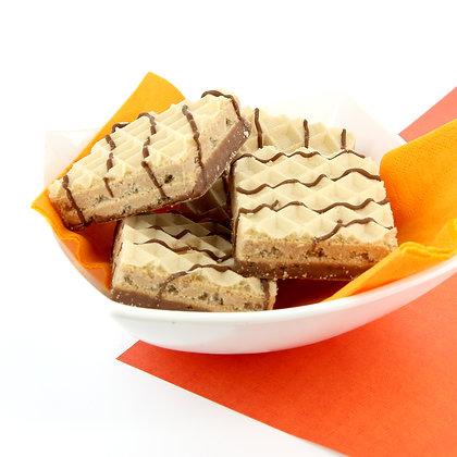 Chocoladewafeltje met hazelnoot (5 porties)