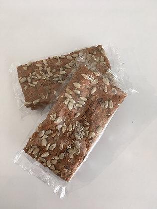 Zonnebloempitten cracker
