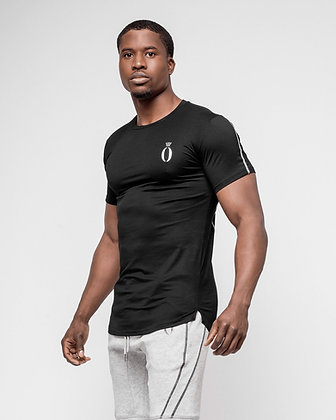 Tri-shirt Black & White