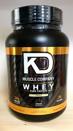 KD Muscle Company Whey Isolate Shake 900gr