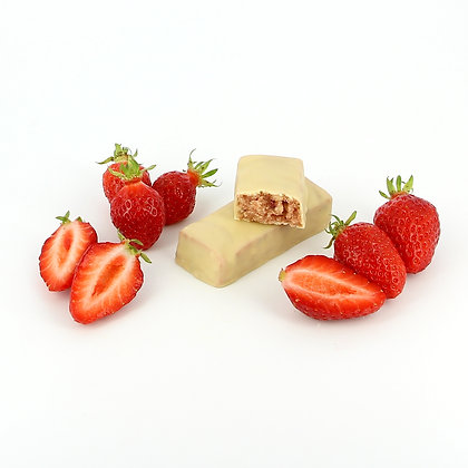 White Strawberry Bar Low Carb (7 porties)