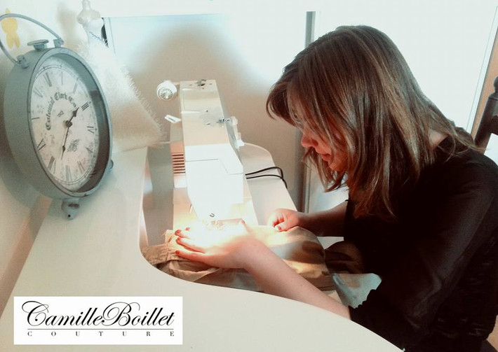 Camille Boillet Couture accueille sa première stagiaire !