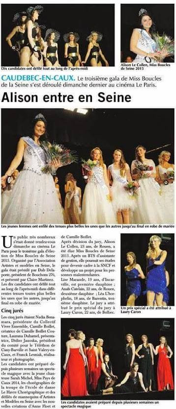 Election Miss Boucles de Seine 2015 - Mai 2015