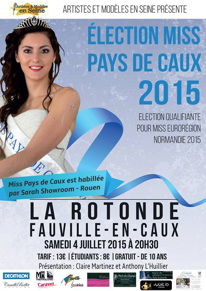 Election Miss Pays de Caux 2015