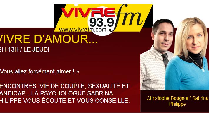 Emission Vivre d'amour sur la radio Vivre FM