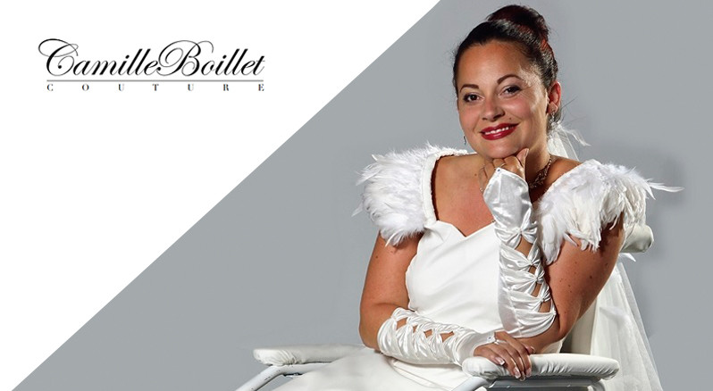 Une mariée en trois dimensions - Cover Dressing