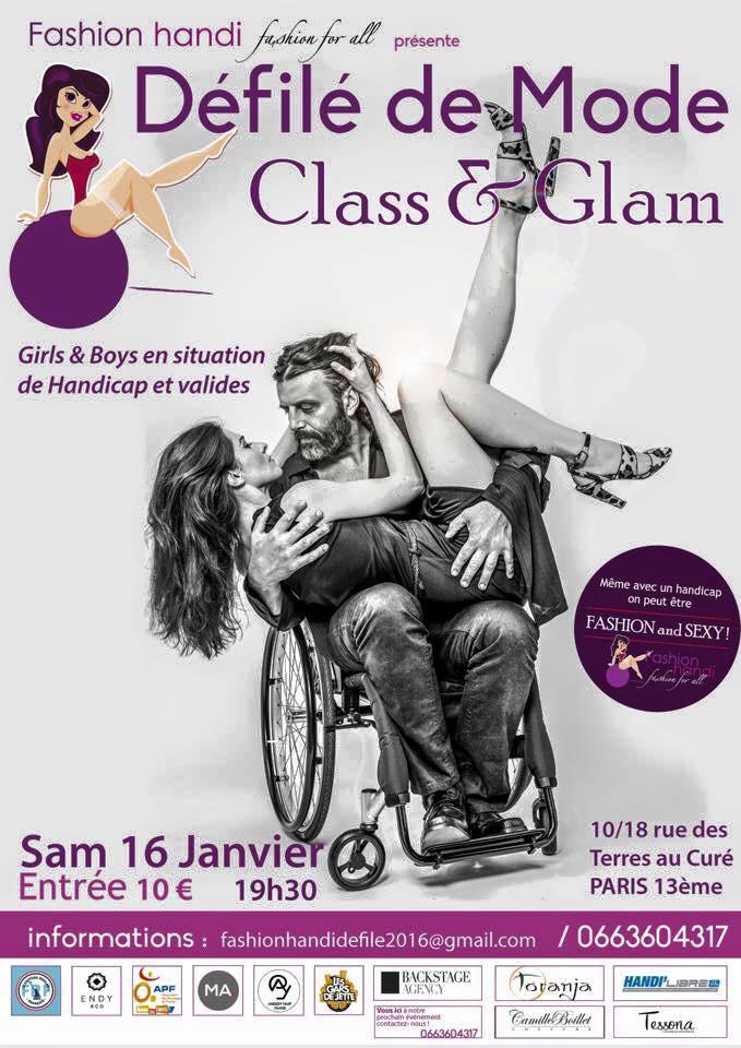 Défilé Class&Glam de Fashionhandi