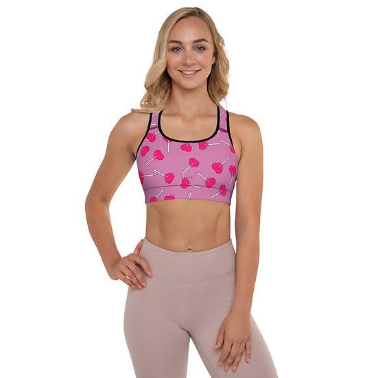 LPOP Pink [Padded] Sports Bra
