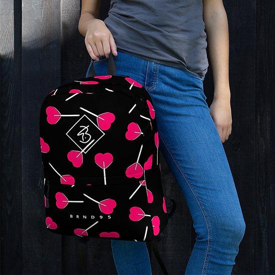 LPOP Black Backpack