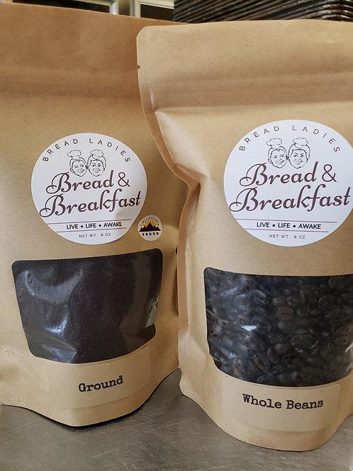 Bread & Breakfast Coffee Blend - Ground, 8 oz